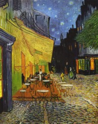 Cafe Terrace on the Place du Forum (also known as Cafe Terrace at Night), 1888 • ??????? ??? ??? (1853-1890) • ???????? ???????, ??????? ??????????? • Gallerix.ru