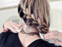 multi color braid - StyleCraze