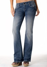 Vigoss Coin-Pocket Stretch Bootcut Jean at Alloy