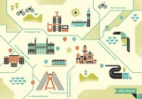 maps / Sao Paulo Map #iconography