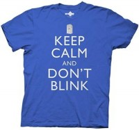 Doctor Who Shirts - Doctor Who Keep Calm and Don't Blink T-Shirt by Animation Shops