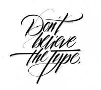 Great typographic designs