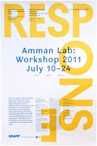 Rumors – Studio X Amman Workshop 2011 Poster