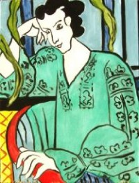 Original Painting by James Erikson - copy of Henri Matisse's 1939 'The Green Rumanian Blouse' - Online Fundraising Auction - BiddingForGood