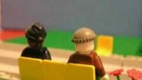 White & Nerdy in Lego - YouTube