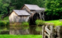 Free Download HD Dreamy Old Mill 1440x900 - Download FREE Widescreen HD Dreamy Old Mill