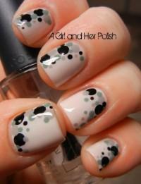 water glaze nail art - StyleCraze