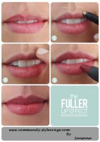 Fuller pout secret - StyleCraze