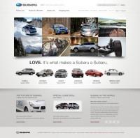 Subaru.com V2 - Tofslie Inc. | The Creative Studio of Edwin Tofslie - Creative Direction, Art Direction, Ideas, Design, Interactive, Web and Maker of Fine Jerky.
