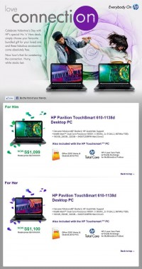 HP. EMAILERS - Sally Zou | creative