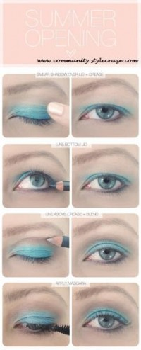 silver shadow eye makeup - StyleCraze