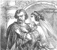 Image detail for -SCENE II. The palace. Enter LADY MACBETH and a Servant LADY MACBETH ...