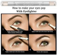 how to make youe eyes pop with wywlighter - StyleCraze