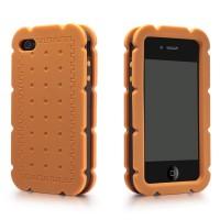 Biscuit Cream Sand iPhone 4/4S Silicone Case
