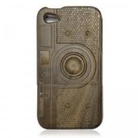Walnut IPhone4/4s Case-M1 Camera