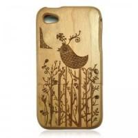 Cherry Wood IPhone4/4s Case-Lovely Bird
