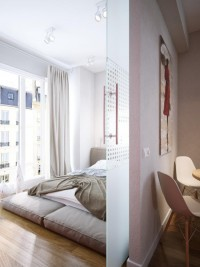 Apartment for a Young Couple by Sergey Baskakov » Design You Trust – Design Blog and Community