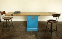 """Illinois"" console table   Strawser & Smith"