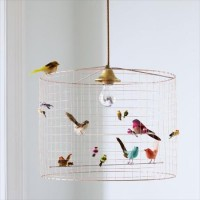 Bird Cage Chandelier - morning breeze