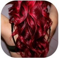 get hair color bright and thick - StyleCraze
