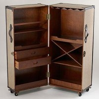Clyde Steamer Trunk Bar | Dining Room Furniture| Furniture | World Market