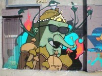 Mural Cartoon Graffiti Characters by Dabs And Myla | Graphic Design | Graffiti Art