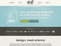21 Breathtaking Examples of Minimal Color Usage in Web Design | Inspiration — Designspiration
