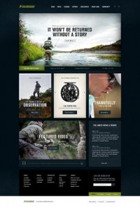 Sage Fly Fishing on Web Design Served — Designspiration
