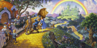 The Wizard of Oz - Painting by Scott Gustafson