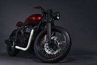 Triumph Bonneville concept by Xenophya