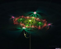 Fractal 3D Flowers 03 World Wallpaper Collection
