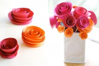 Santa Barbara Wedding Blog » Inviting Design: DIY Paper Flowers