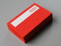 MK letterpress cards by david arias