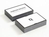 Business cards by Dimitar Raykov