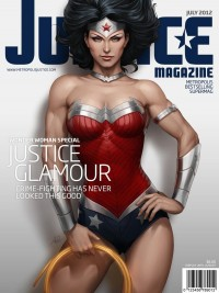 Justice Mag - Wonder Woman by `Artgerm