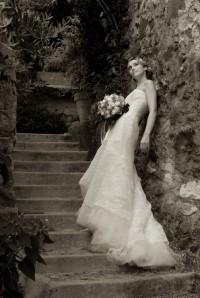 Photo mariée villeneuve loubet