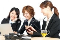 Beautiful young business women | Stock Photo | iStock