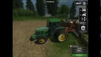 Farming simulator 2011 mod demonstration: John Deere 7800 - YouTube