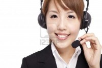 Smiling Businesswoman And Customer Representative With Headset Royalty Free Stock Photo, Pictures, Images And Stock Photography. Image 9620416.