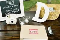 10 Unique Ideas for Wedding Guest Books : Home Improvement : DIY Network