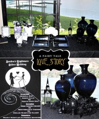 Nightmare Before Christmas Wedding Shower // Hostess with the Mostess®