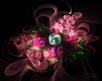 Fractal Flowers - Amazingly Stunning Floral Fractal Art Wallpapers 12 - Wallcoo.net