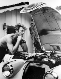 Cooler Than Before (Clint Eastwood and his 1958 Jaguar XK-1505)
