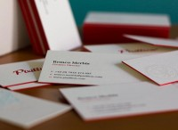 Pixillion Business Cards - Letterpress - Business Cards - Creattica
