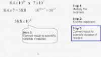 Multiplying numbers in scientific notation - YouTube
