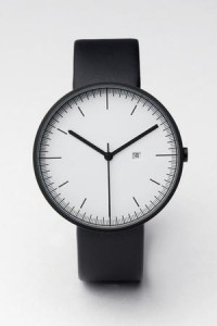 200 Series (PVD Black / Black Leather) | Uniform Wares
