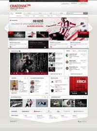 Cracovia Kraków website
