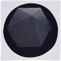 Salvor Projects - Hex Dot / black on white