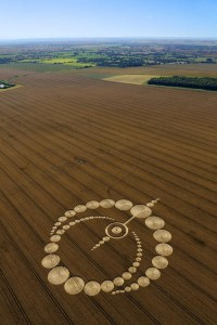 Crop Circle at Etchilhampton , Nr Devizes, Wiltshire. Reported 28th July 2012.