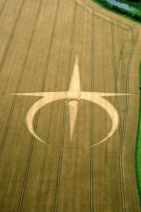 Crop Circle at Allington , Nr All Cannings, Wiltshire. Reported 29th July 2012.
